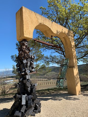 Chateau La Coste is both a winery AND an amazing ART SPACE!