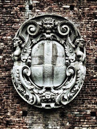 Particolari del Castello Sforzesco (Milano)