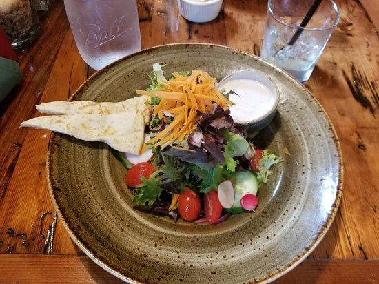Lyme, NH: Side salad