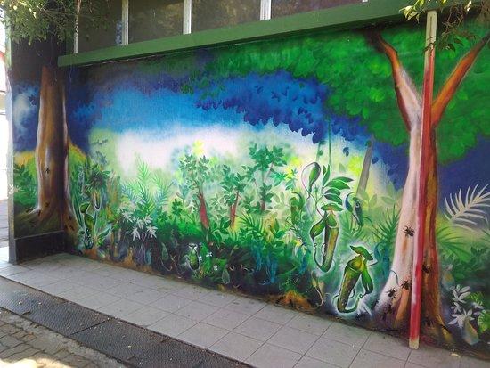 #Kukuvanga' @ Donggongon Public Toilet (Penampang Street Art)  Artist: Kenny Kinjawan a.k.a kAjENjEn