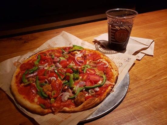 Pizza Subway Style