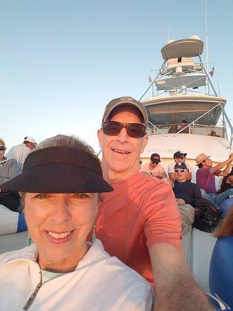 Cabo San Lucas - Visserijcharter - 60 voet Bertram - Blauwe zee Foto