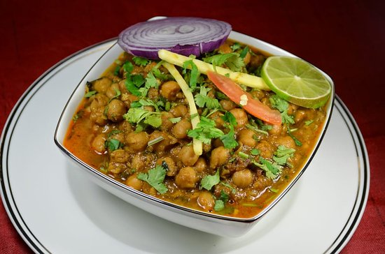 Bay Leaf Indian Cuisine: Chana masala