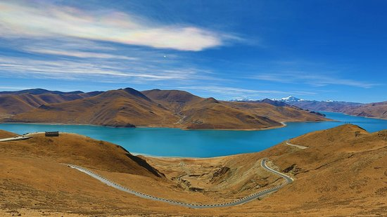 Tibet, China: Yamdrok-tso