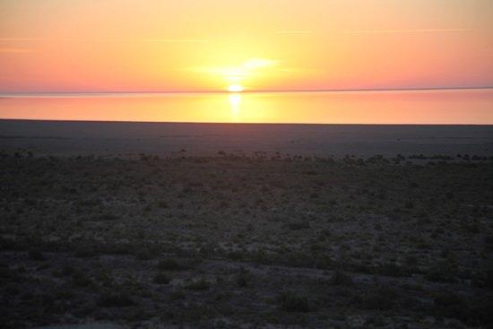 Muynak, Uzbekistan: Sunrise of the Aral Sea!
