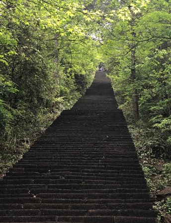 Yuanling County, Trung Quốc: All the way to the top - its quite a hike...