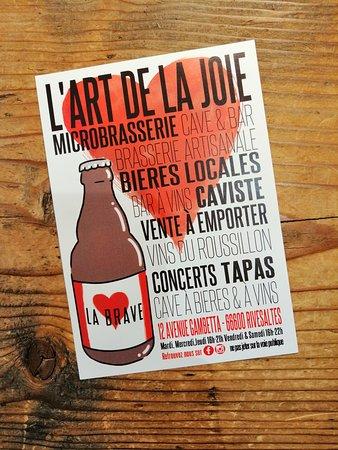 Brasserie L'Art De La Joie