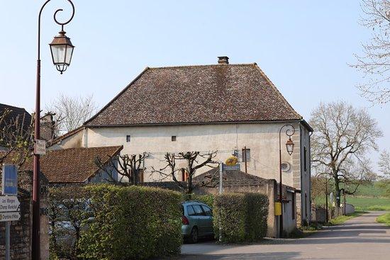 Vue du village de Boyer