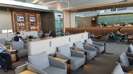 Incheon Airport Asiana Airlines  Business Lounge