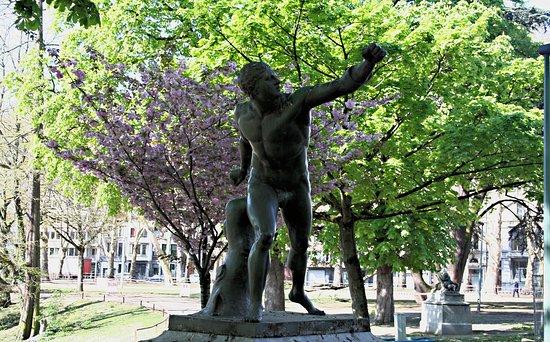 Statue Gladiateur Borghese