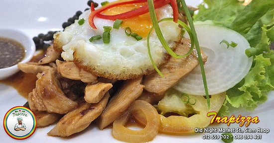 Trapizza Western and Cambodian Cuisine: Trapizza Dishes