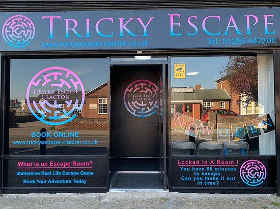 Tricky Escape Clacton: Tricky Escape Shop Front