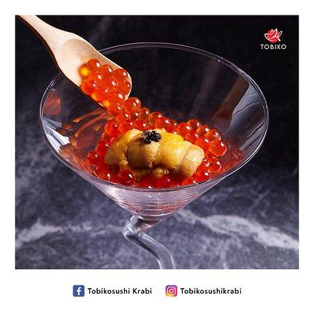 - Ikura Uni Caviar Shot -