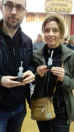 The Bronze - Kelesis Yannis: Anthony & Ingrid  ( casting metal,  lesson )