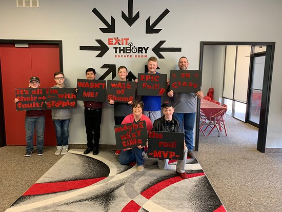 Exit Theory Escape Room