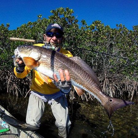Ozello, فلوريدا: Big Girl on topwater