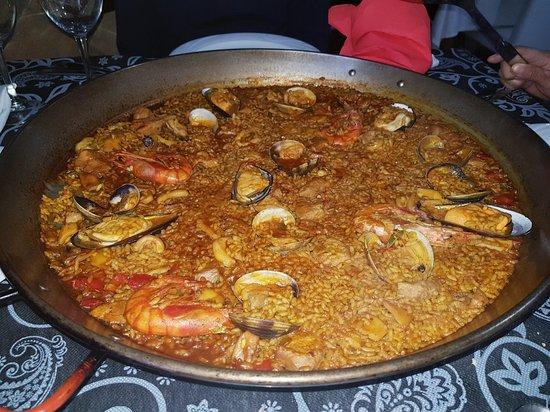 Daya Vieja, Espagne : Paella de marisco y más.......