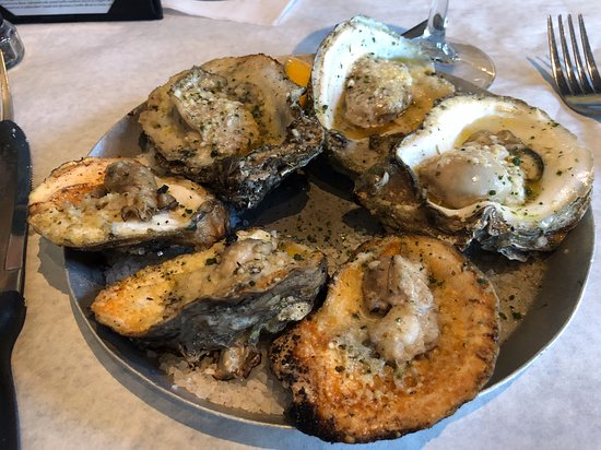 Grilled Oysters - Picture of Half Shell Oyster House, Biloxi