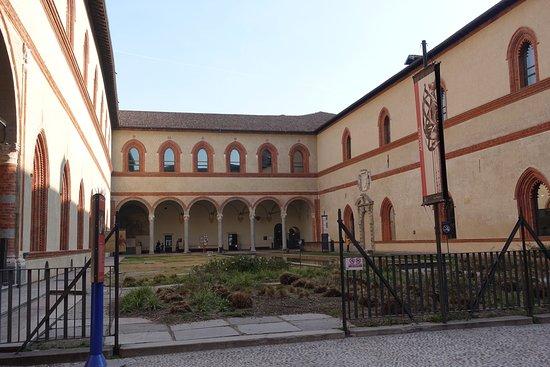 Castello Sforzesco: Interior