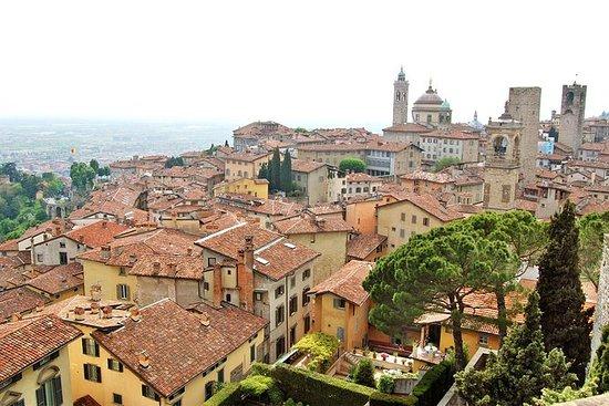 Tour a piedi privato di Bergamo dalla