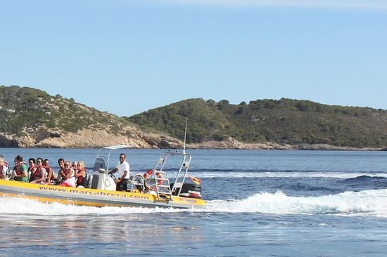 Cabrera Complete Tour by Speed Boat