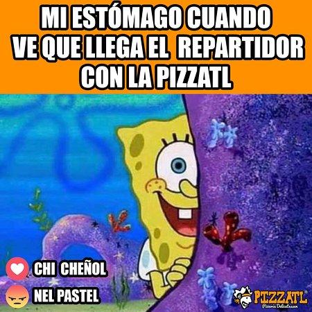 ¡Y brinca de emoción y toda la cosa! 🍕♥  #Orizaba #Pizzatl #pizza #lapizzadeorizaba #consumelocal #orizabapueblomagico #Memes