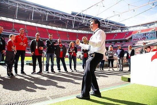 Visite du stade de Wembley