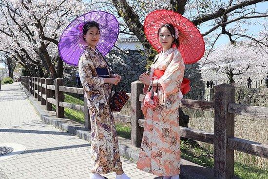 ★ FUKUOKA KIMONO Utfordring ★ Elegant...