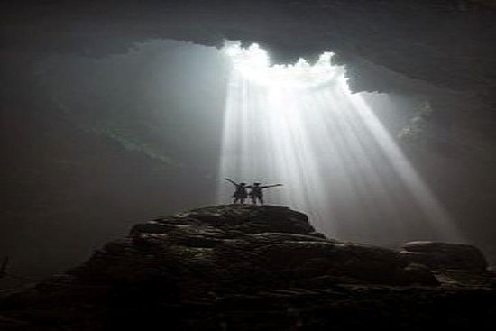 Down to the Light at Jomblang Cave...