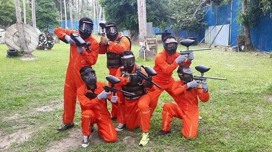 Best activity in Koh Samui!! - Review of Paintball Party, Mae Nam, Thailand - Tripadvisor