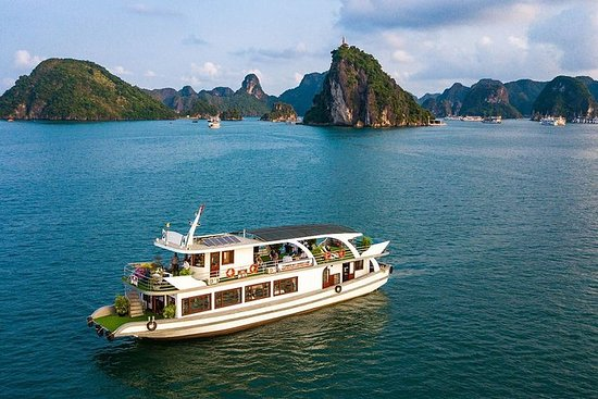 Halong Wonder Bay Cruise luxe volledige ...