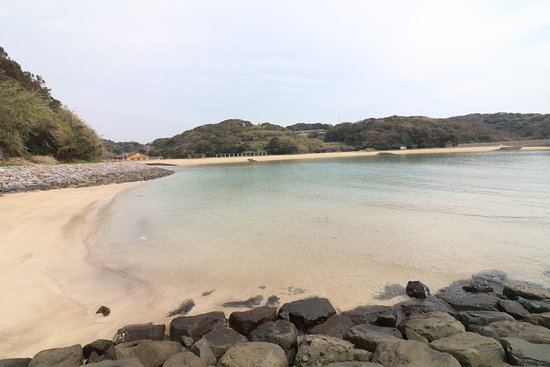 Iki, Japan: ツインズビーチ(小水浜海水浴場)