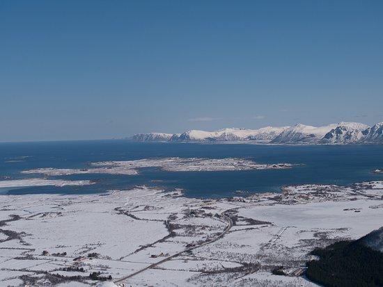 Beliggenheten I Vesteralen Picture Of Sollund Gard Sorvagen Tripadvisor