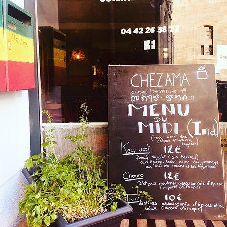 Nouveau menu du midi! Moins cher mais toujours aussi bon!