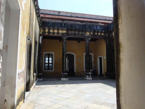 Tranquebar, Индия: Courtyard