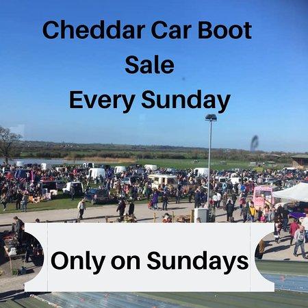 Cheddar, UK: Car boot Sundays
