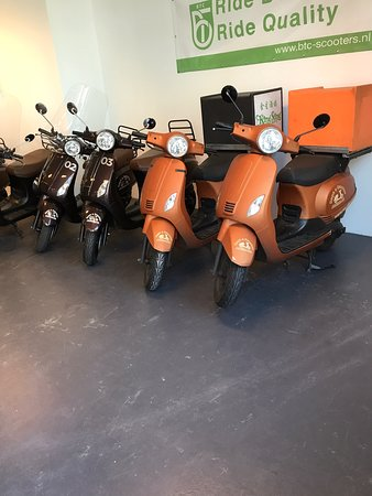 Rent a Scooter Alkmaar