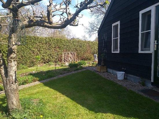 Ansen, Нидерланды: Heerlijk ontbijt en fijne tuin