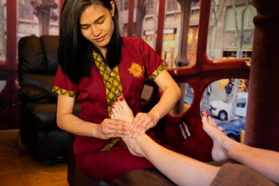 Thai Spa Massage Barcelona: Masaje de Pies