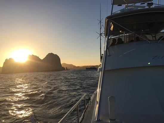Cabo San Lucas - Visserijcharter - 60 voet Bertram - Blauwe zee: sunset cruise 60 Foot Bertram