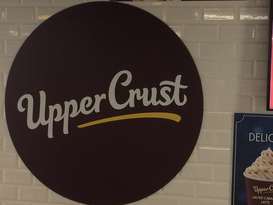 Logo on the wall of the restaurant.