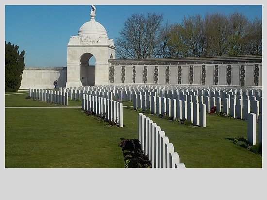 Tyne Cot Cemetery: too many graves