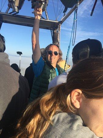 Sunrise Temecula Balloon Flight: Our Pilot Extraordinaire!
