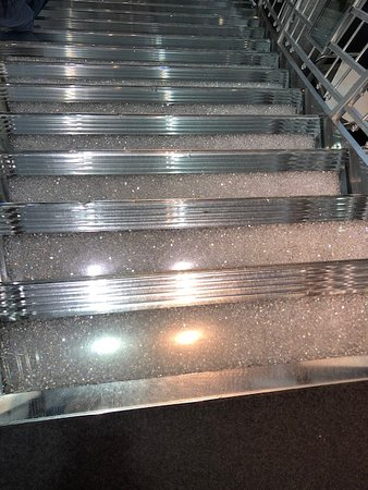 The crystal staircase!