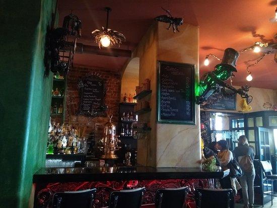 Steampunk Prague Bistro – fotografija