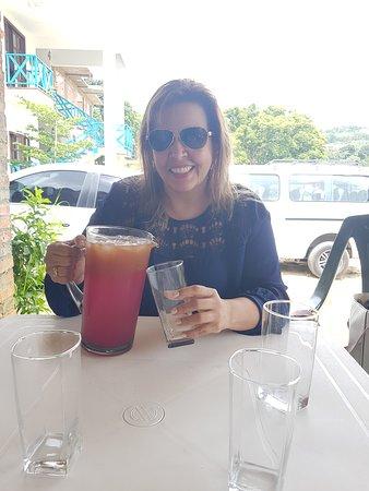 Charala, كولومبيا: Disfrutando el arrecho