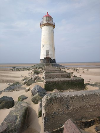 Bride, UK : Phare