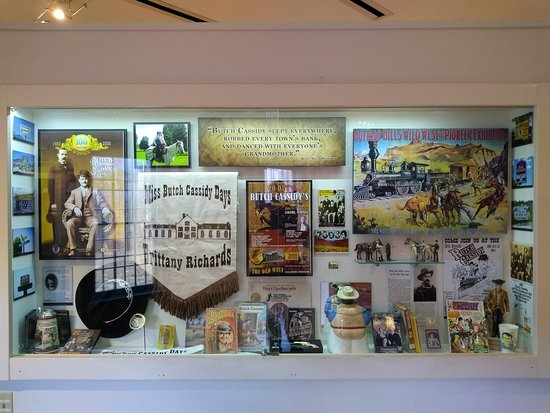 An assortment of Butch Cassidy merchandise  - Picture of Wyoming