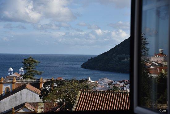 Angra do Heroismo, Portugal: Vista para a Baía de Angra