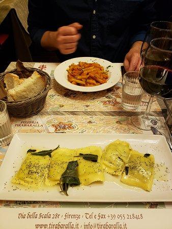 Butter and Sage Sauce Ravioli